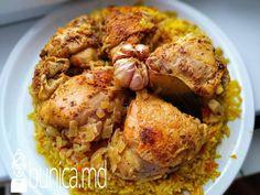 bunica.md — Pilaf de orez în straturi la cuptor Chicken Wings, Carne, Shrimp, Meat, Food, Beef, Meal, Essen, Hoods