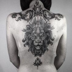 Tattoo by @silwou #blackworkers #tattoo #bw #blackwork #blacktattoo