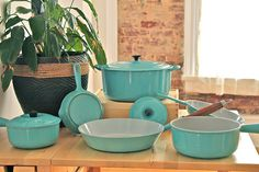le creuset- I LOVE mine...straight from the stove to the oven!