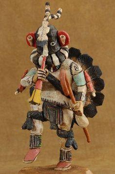 Kokopelli Hopi Kachina Doll