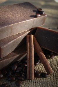 Spiced Coffee Soap- including eo blend for spicy chai fragrance