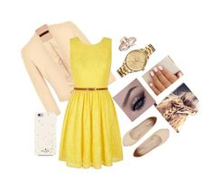 """""""Untitled #3"""" by ariana-halley on Polyvore featuring Ally Fashion, Yumi, Express, Lacoste and Kate Spade"""