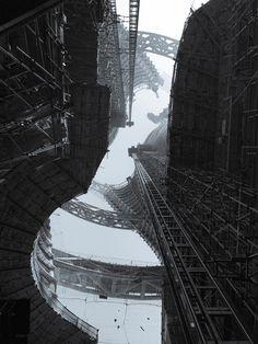 Gratte ciel à Beijing en construction. - Architecture Porn