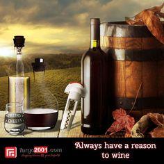 Segelas Wine setiap hari dapat menyehatkan Anda ! fargo2001.com mempersembahkan perlengkapan wine yang berkualitas untuk memudahkan dalam mengkonsumsi dan menyimpan wine Anda ! http://fargo2001.com/index.php?route=product%2Fsearch&search=wine