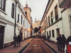 Las Calles de Santa fe de Bogota.