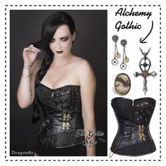 """Steampunk"" by thegothicshop on Polyvore"