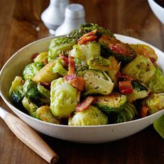 Brussels Sprouts with Bacon By Food Network Kitchen