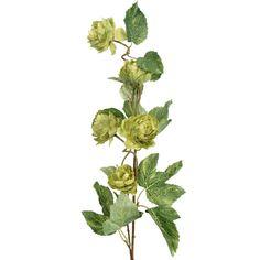 Artificial Flower Hop Spray Green - Irish Plants Direct