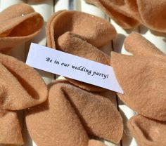 Engagement Announcement Fortune Cookies by TheWhimsicalTree, $5.00
