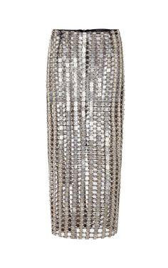 Shop Pencil Skirt by Wes Gordon for Preorder on Moda Operandi