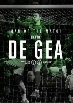 Man of the match. The beast DAVID DE DEA!!!