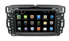 lsqSTAR 7Capacitive Android 44 Multimedia Stereo Navigation System Car GPS Navigation with LCD touch screen audio navigation system Radio Bluetooth RDS Steering wheel control car radio for Buick 200809 Enclave  200809 Lucerne GMC 200710 Yukon Denali  Acadia200711  200810 Sierra Chevy 2007  10 Silverado  200710 Tahoe  200710 Suburban  200710 Avalanche  200609 Impala  200607 Monte Carlo  200708 Aveo  2008 Express Saturn 200709 Outlook  200809 Vue Support 3G  Wifi  OBD2  TPMS  DVR  Mirror link…