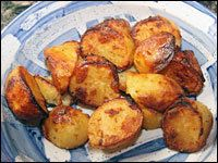 Perfect Roast Potatoes Roasted in Rendered Goose Fat. Amazing!