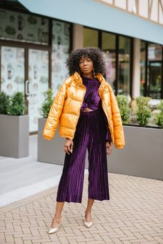 How to style puffer coats this season