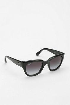 Ray-Ban Thick Cat-Eye Sunglasses #urbanoutfitters