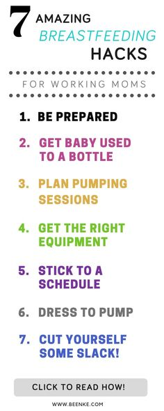 Everything breastfeeding working moms need to know! If you want to continue nursing after you return to work. Check out these 7 helpful tips for pumping moms to make the transition from breast to bottle easier. Babies First Year, First Time Moms, Pumping At Work, Breastfeeding Help, Get Baby, Return To Work, Everything Baby, Working Moms, Pregnancy Tips