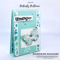Handmade Thank You Cards, Glue Dots, Butterfly Cards, Embossing Folder, Free Gifts, Your Cards, Are You The One, Kylie, Card Stock
