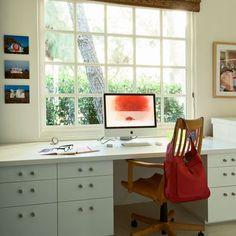 Wohnideen Büro Und Gästezimmer clean unobtrusive file holders and l warm and textured chair