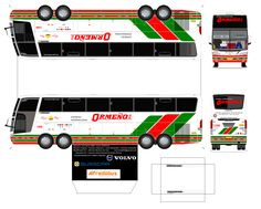 Volvo, Busses, Car Wrap, Blog, Recycled Toys, Paper Toys, Bud, Ideas, Posters