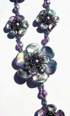 Smartina´s Glasperlereien, Rose Petal beads