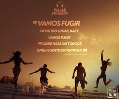 Vamos fugir! Vamos viajar! Vamos curtir! Nosso destino são todos os destinos. ☀✈  http://www.clubeturismo.com.br/site