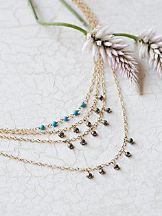Delicate Tiered Anklet