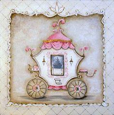 Princess Coach IV by me, Kris Langenberg.  Princess Coach Art