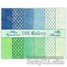 Набор двусторонней скрапбумаги UHK Gallery - My Precious, 30,5х30,5 см, 6 листов - ScrapUA.com 58-30