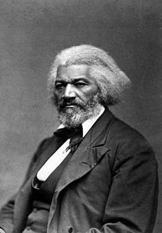 This portrait of Frederick Douglass was used for an ad for  Doctor Sylvester's Hair Straightening Tonic.