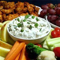 Blue Cheese Dip II Allrecipes.com