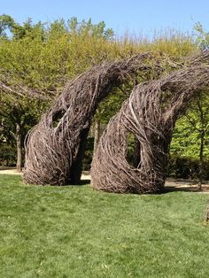 Twig sculptures