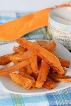 Butternut Squash Fries with Fleur de Sel