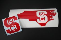NC State Wolfpack Vinyl Decal Sticker Wolfpack Fan by EntropySigns