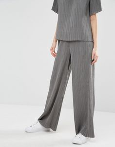 09a10749fc2 ADPT Pleated Co-ord Wide Leg Trousers at asos.com