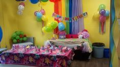 Jump2It:  My Little Pony themed birthday party