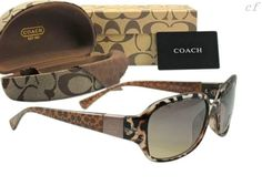 I have several pairs of sunglasses...one of my signatures. ~R~ Coach sunglasses