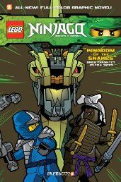 Ninjago Graphic Novels #5: Kingdom of the Snakes | Your #1 Source for Kindle eBooks from the Amazon Kindle Store!