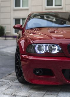 Cherry M3 #E46 #AngelEyes …