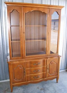 I Bought This Exact French Provincial China Cabinet Today Its A Bassett