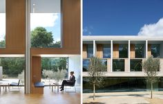 Stanton Williams' BREEAM Excellent Sainsbury Laboratory Shortlisted for 2012 RIBA Stirling Prize Stanton Williams, Book Cafe, Facade Architecture, Green Building, Office Interiors, Best Hotels, Facades, Outdoor Decor, Projects