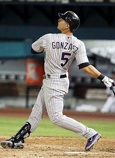 Carlos Gonzalez  Colorado Rockies