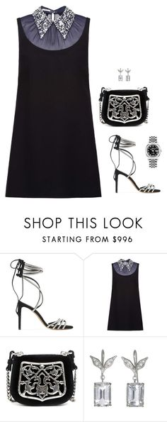 """""""Untitled #1171"""" by loveraige ❤ liked on Polyvore featuring Alexandre Vauthier, Miu Miu, Prada and Rolex"""