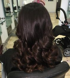 Deep Brunette Strands with a Hint of Brown