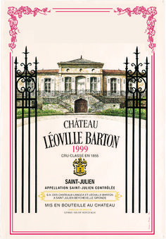 Collection Bordeaux- Chateau Leoville Bartob