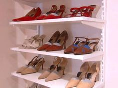 Another idea for a shoe rack