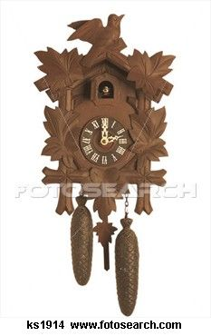 I love Coo-Coo clocks, since I was a child and My Mother always had one.