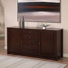 Tribeca 2-door 5-drawer Buffet - Overstock™ Shopping - Big Discounts on Buffets