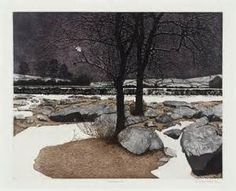 Philip Greenwood 'Snow Night', 1974© Philip Greenwood