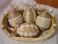 Подарки на Пасху ручной работы. Ярмарка Мастеров - ручная работа Пасхальные яйца. Handmade.