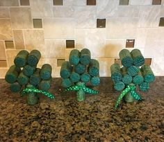 Utilized Grape Corks to buy for use for craft projects like beer cork wreaths, plug pin boards, marriage event favors plus much more. Wine Cork Wreath, Wine Cork Ornaments, Wine Cork Art, Wine Corks, Wine Craft, Wine Cork Crafts, Wine Bottle Crafts, Wine Bottles, Wine Cork Projects